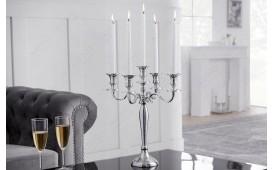 Designer Kerzenständer CANDELABRUM SILVER S