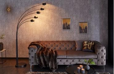 Designer Stehleuchte FIVES BLACK GOLD-NATIVO™ Designer Möbel Österreich