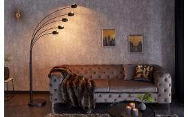 Designer Stehleuchte FIVES BLACK GOLD
