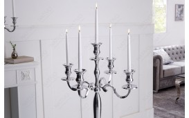 Designer Kerzenständer CANDELABRUM SILVER L-NATIVO™ Designer Möbel Österreich