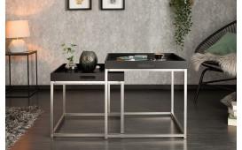 Designer Beistelltisch UNITY BLACK SET 2-NATIVO™ Designer Möbel Österreich
