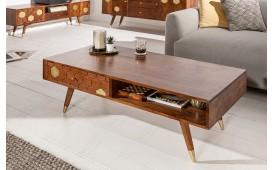 Designer Couchtisch ARABIC HONEY 117cm