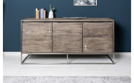 Designer Sideboard TAURUS GREY ARTWORK