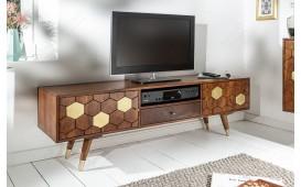 Designer Lowboard ARABIC HONEY 140 cm