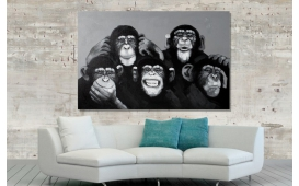 Designer Bild MONKEYS
