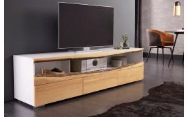 Designer Lowboard WOOD WHITE 180 cm-NATIVO™ Designer Möbel Österreich