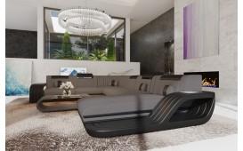 Designer Sofa ROYAL XXL mit LED Beleuchtung & USB Anschluss-NATIVO™ Designer Möbel Österreich