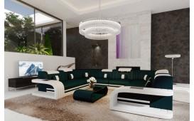 Designer Sofa ROYAL CORNER U FORM mit LED Beleuchtung & USB Anschluss-NATIVO™ Designer Möbel Österreich