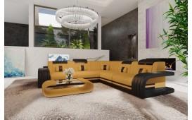 Designer Sofa ROYAL CORNER mit LED Beleuchtung & USB Anschluss-NATIVO™ Designer Möbel Österreich