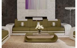3 Sitzer Sofa ROYAL mit LED Beleuchtung & USB Anschluss-NATIVO™ Designer Möbel Österreich