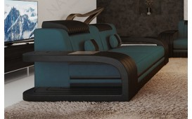 2 Sitzer Sofa ROYAL mit LED Beleuchtung & USB Anschluss-NATIVO™ Designer Möbel Österreich