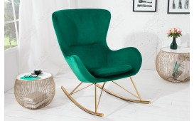 Designer Lounge Sessel BERGEN GREEN