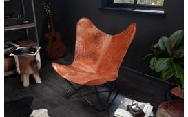 Designer Lounge Sessel ASTRA LIGHT BROWN