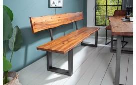 Designer Sitzbank ALMERE DARK 200 cm