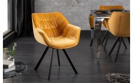 Designer Stuhl SOLACE YELLOW