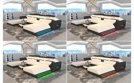 Designer Sofa AVATAR XXL DUO mit LED Beleuchtung & USB Anschluss-NATIVO™ Designer Möbel Österreich