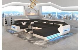 Designer Sofa AVATAR XXL mit LED Beleuchtung & USB Anschluss
