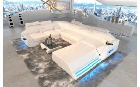 Designer Sofa AVATAR XXL mit LED Beleuchtung & USB Anschluss-NATIVO™ Designer Möbel Österreich