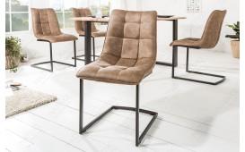2 x Designer Stuhl FLORIDA TAUPE-NATIVO™ Designer Möbel Österreich