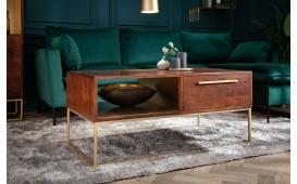 Designer Couchtisch FLAT GOLD 110 cm-NATIVO™ Designer Möbel Österreich