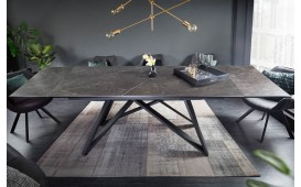 Designer Esstisch SALTA GRAPHITE 180-220-260 cm-NATIVO™ Designer Möbel Österreich