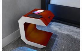 Nachttisch LUNA mit USB Anschluss & drahtloses Ladegerät-NATIVO™ Designer Möbel Österreich