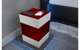 Nachttisch COSMOS mit USB Anschluss & drahtloses Ladegerät-NATIVO™ Designer Möbel Österreich
