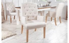 2 x Designer Stuhl FORTRESS BEIGE mit Armlehne-NATIVO™ Designer Möbel Österreich