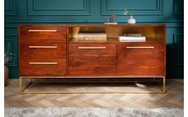 Designer Sideboard FLAT GOLD 165 cm-NATIVO™ Designer Möbel Österreich
