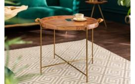 Designer Couchtisch OPAL GOLD 55 cm-NATIVO™ Designer Möbel Österreich
