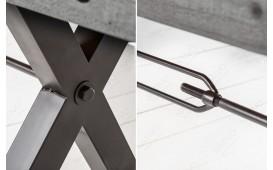 Designer Sitzbank TORAH GREY 200 cm-NATIVO™ Designer Möbel Österreich