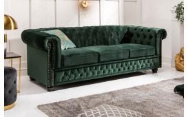3 sitzer sofa CHESTERFIELD GREEN-NATIVO™ Designer Möbel Österreich