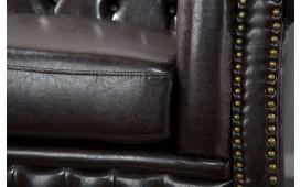 2 sitzer sofa CHESTERFIELD DARK COFFEE-NATIVO™ Designer Möbel Österreich