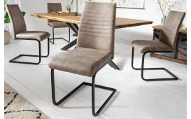 2 x Designer Stuhl MARTA TAUPE-NATIVO™ Designer Möbel Österreich