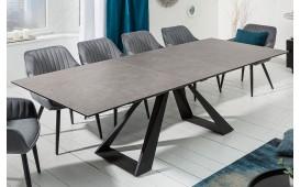 Designer Esstisch CONCA GREY 180-230 cm-NATIVO™ Designer Möbel Österreich