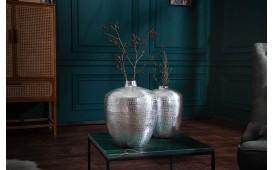 Designer Vase ORIENTA SILVER