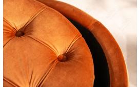 Designer Sitzhocker ROCCO ORANGE S-NATIVO™ Designer Möbel Österreich