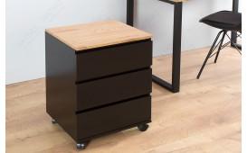 Designer Rollcontainer ROLL OAK BLACK-NATIVO™ Designer Möbel Österreich