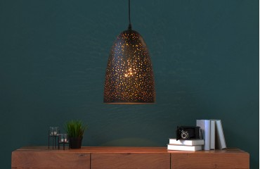 Designer Hängeleuchte LONAR SMALL BLACK COPPER-NATIVO™ Designer Möbel Österreich