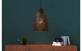 Designer Hängeleuchte LONAR SMALL BLACK COPPER