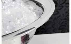 Designer Champagner-Kühler CAMPANIE SILVER