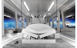 Boxspringbett PERSEUS in Leder inkl. Topper & Stauraum-funktion by ©iconX STUDIOS NATIVO™ Möbel Österreich