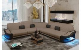 Designer Sofa DIABLO CORNER mit LED Beleuchtung & USB Anschluss-NATIVO™ Designer Möbel Österreich