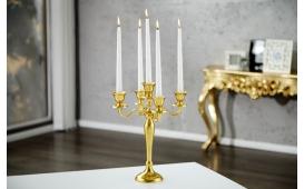 Designer Kerzenständer CANDELABRUM GOLD S