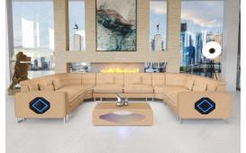 Designer Sofa GREGORY CORNER U FORM mit LED Beleuchtung-NATIVO™ Designer Möbel Österreich
