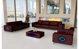 Designer Sofa GREGORY 3+2+1 mit LED Beleuchtung-NATIVO™ Designer Möbel Österreich