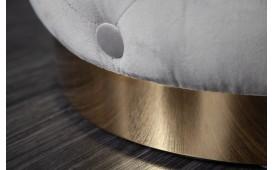 Designer Sitzhocker ROCCO CHESTER GREY GOLD-NATIVO™ Designer Möbel Österreich