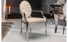 Designer Stuhl ROCCO BEIGE II mit Armlehne-NATIVO™ Designer Möbel Österreich