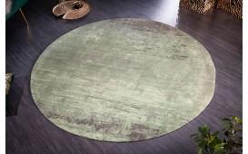 Designer Teppich ABSTRUSE GREEN ROUND-NATIVO™️ Designer Möbel Österreich