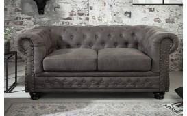 2 sitzer sofa CHESTERFIELD GREY-NATIVO™️ Designer Möbel Österreich